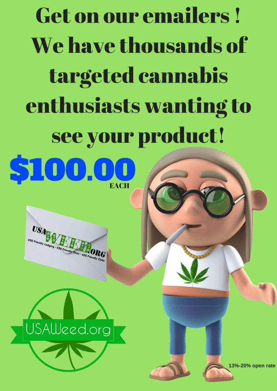 usaweed newsletter promo