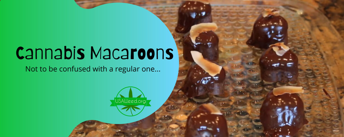 Cannabis Macaroons
