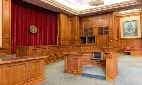 inside of court room