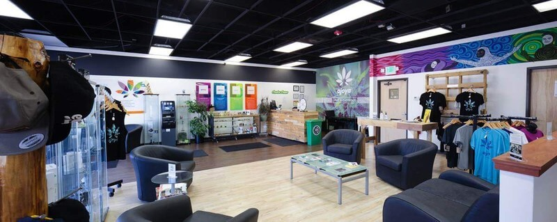 recreational cannabis store